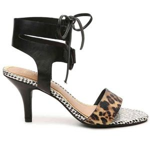 Mari A Leopard Heeled Sandals!